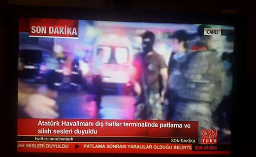 انفجار فرودگاه آتاتورک استانبول را لرزاند