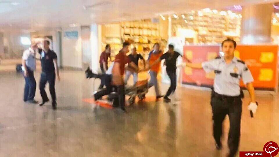 فرودگاه آتاتورک ترکیه عکس و فیلم انفجار ترکیه انفجار فرودگاه ترکیه اخبار ترکیه