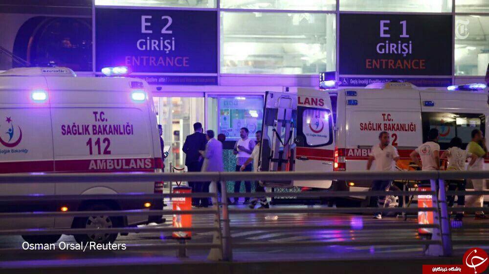 انفجار و تیراندازی در فرودگاه آتاتورک استانبول/ دست کم 50 نفر مجروح شدند + فیلم و تصاویر