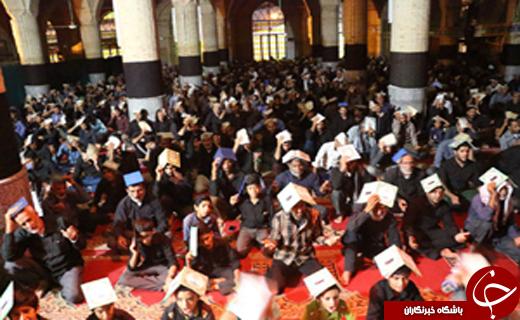 زمزمه الغوث الغوث در سومین شب لیالی قدر به روایت تصویر