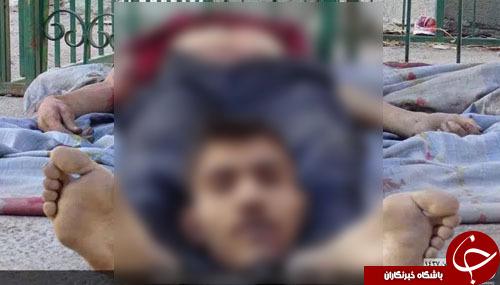 بیحرمتی تروریستهای داعش به پیکر بیجان قربانیان (تصاویر18+)
