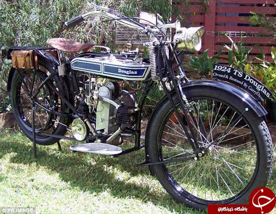 موتورسیکلت عجیب مدل سال 1942 به سرقت رفت +عکس