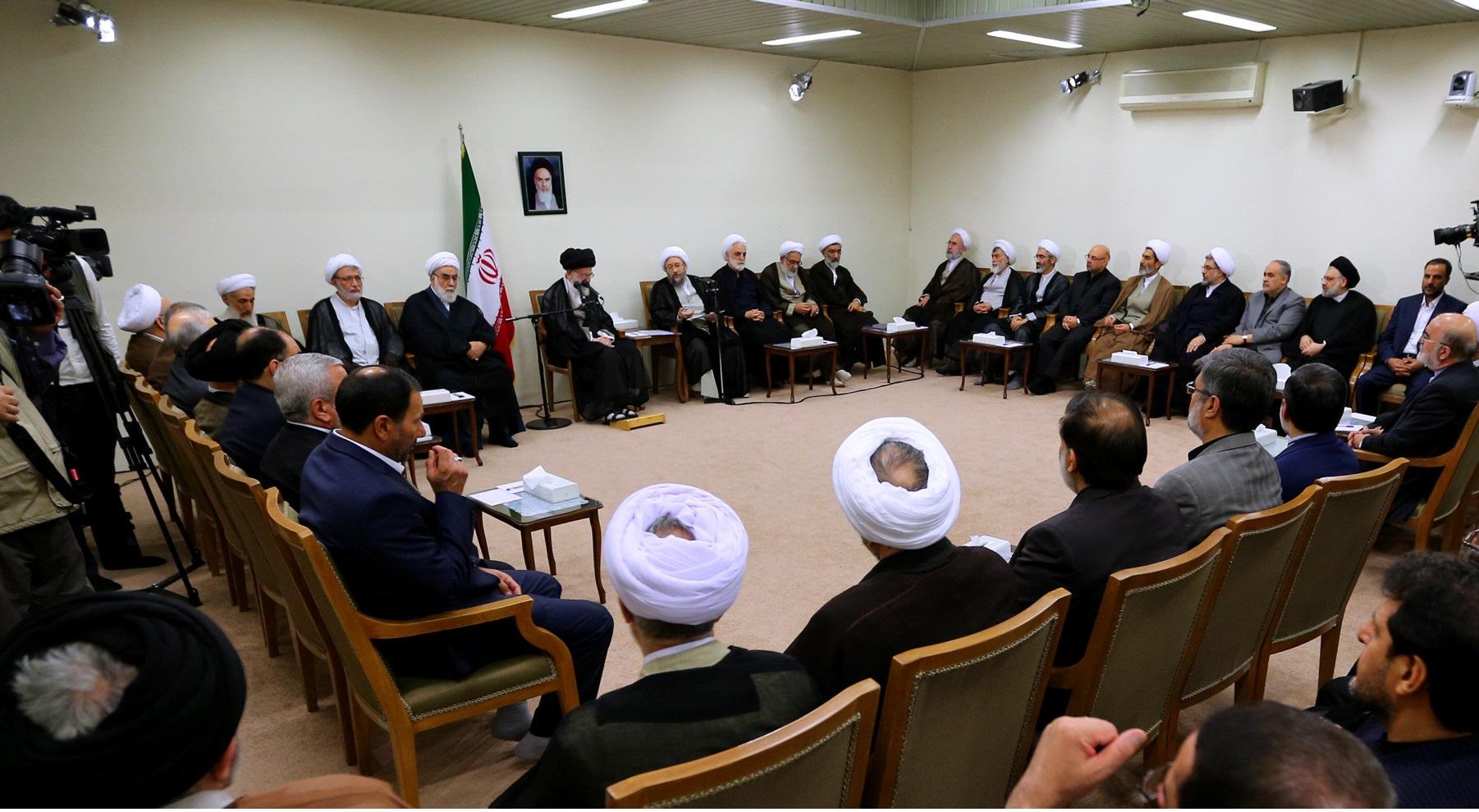 رئیس و مسئولان قوه قضائیه با رهبر معظم انقلاب دیدار کردند
