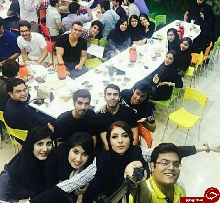 افطاری مختلط در دانشگاه امیرکبیر تهران + عکس