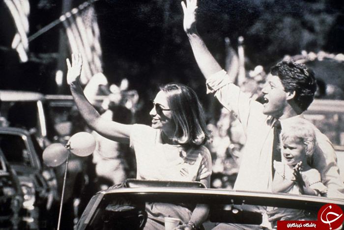عکس های دیده نشده از هیلاری کلینتون؛ از عینک ته اسکانی تا دیدار با مادر تِرزا+20 عکس