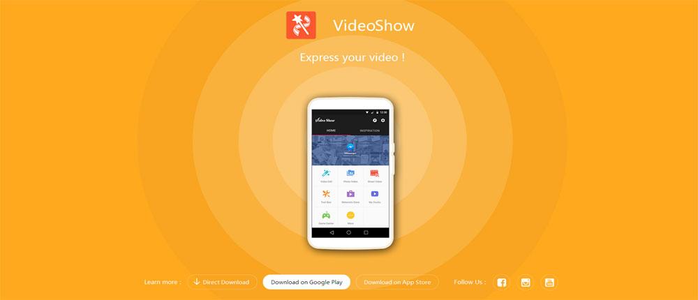 ویرایش و ساخت ویدئو جذاب با دانلود VideoShow Pro