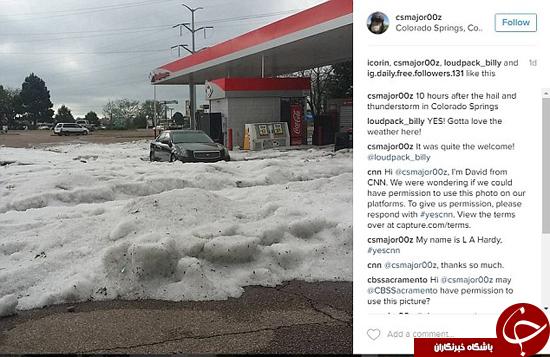 عکسهای بعد از طوفان در کلورادو