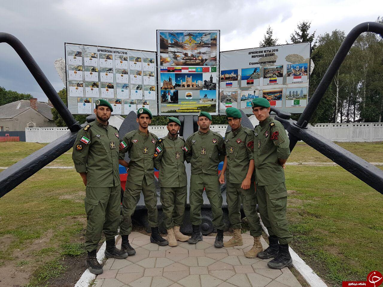تصاویری از حضور تکاوران سپاه در روسیه