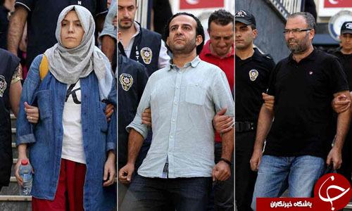 گاردین: مطبوعات ترکیه قربانی پاکسازی گسترده دولت اردوغان+ تصاویر