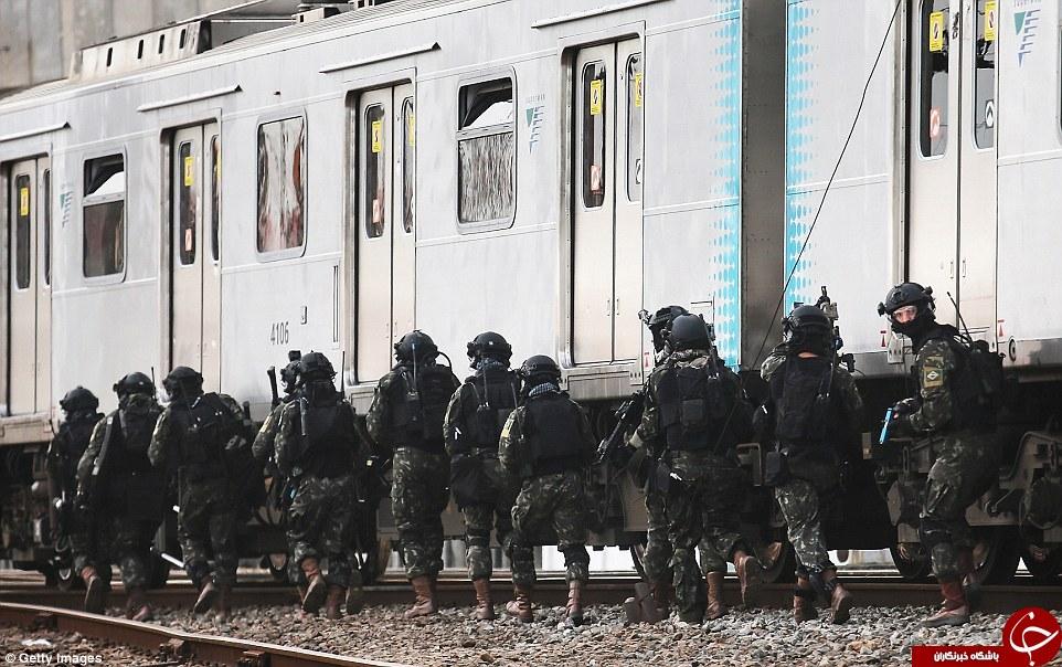 حال و هوای برزیل در واپسین روزهای آغاز المپیک/آغاز حکومت نظامی در برزیل به منظور مقابله با داعش