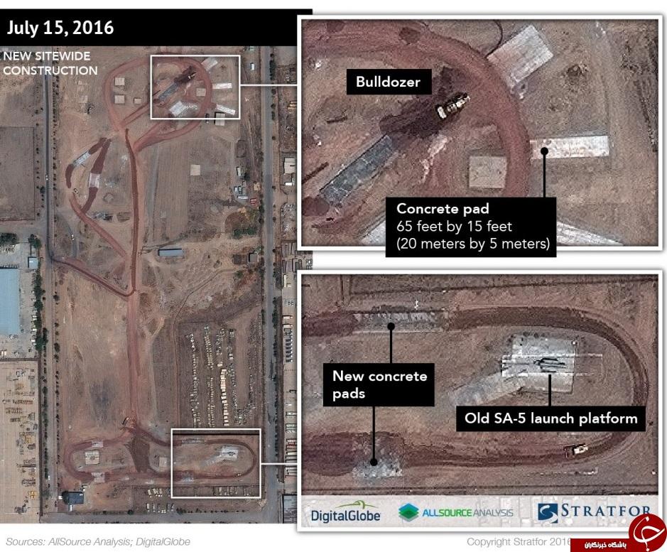 ادعای استراتفور: تقویت پدافند هوایی ایران / استقرار سامانه موشکی اس-300 در شرق تهران+عکس