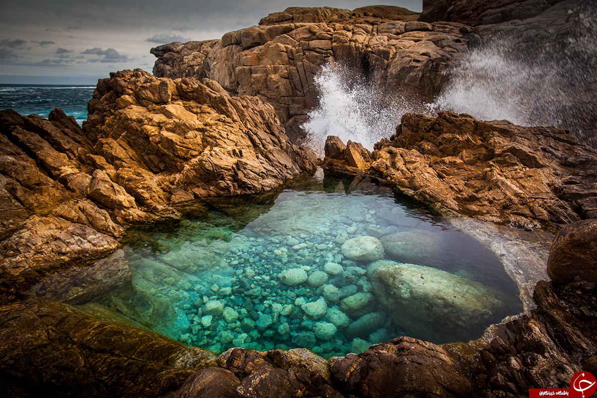 تجربه شنا در دلانگیزترین استخرهای طبیعت+تصاویر