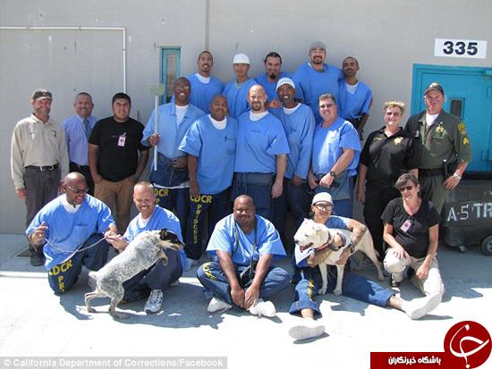 انسانیت در زندان کالیفرنیا + تصاویر