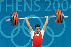 قهرمان وزنه برداری ایران در تیم المپیک آمریکا