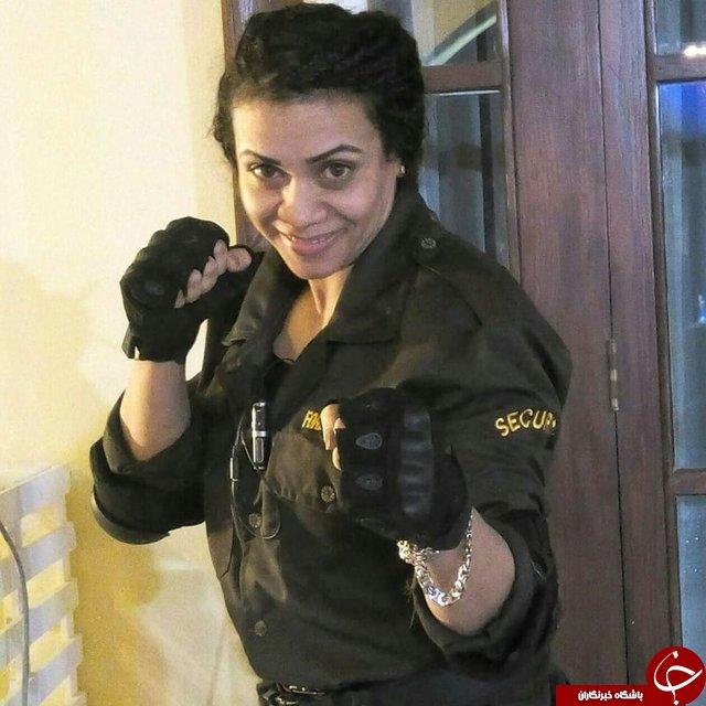 اولین دختر بادیگارد مصر دوست دارد محافظ شخصی رئیسجمهور شود +تصویر