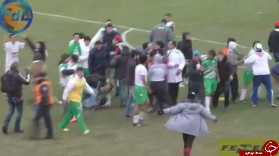 کتک مفصل به تیم شکستخورده لیگ آرژانتین +تصاویر