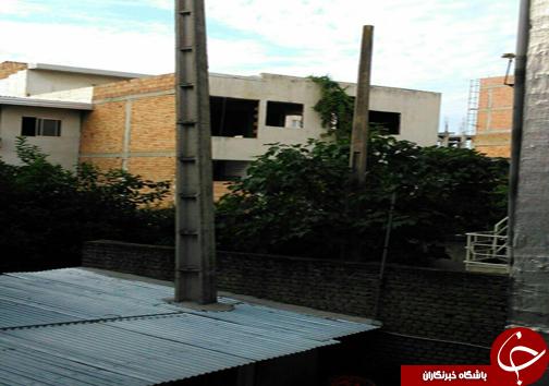دو سوژه برقی که فقط در نکا دیده می شود + تصاویر