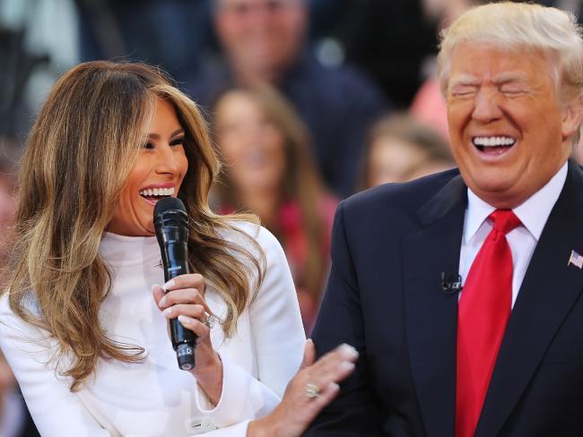 ترامپ از انتشار تصاویر برهنه همسرش ناراحت نیست