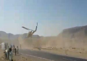 انتقال مصدومان تصادف توسط هلیکوپتر امداد + فیلم