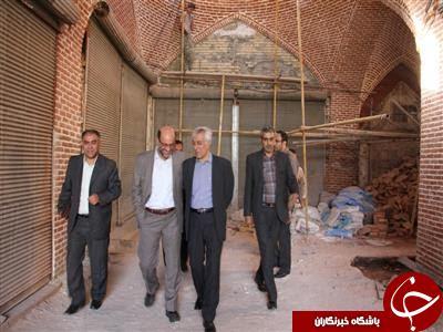 بازدید از پروژه های مرمتی ارومیه / به روایت تصویر