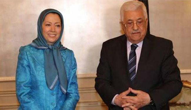 یک مقام فلسطینی: دیدار محمود عباس و مریم رجوی به دستور مستقیم عربستان بود