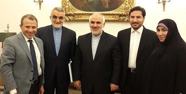 دیدار هیات پارلمانی کمیسیون امنیت مجلس با وزیرخارجه لبنان