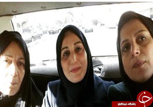 خواهران گوینده خبر در کنار مادرشان+عکس