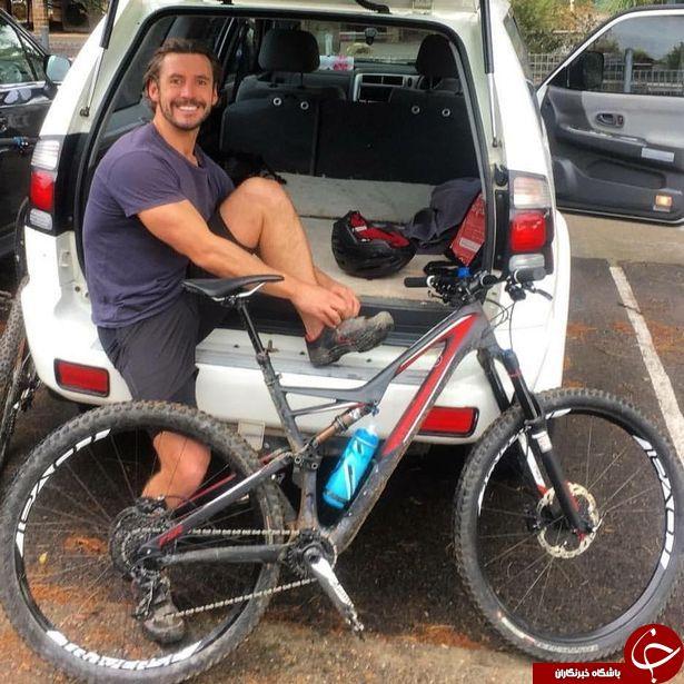لحظه وحشتناکی که آیفون 6 در جیب یک دوچرخه سوار می ترکد!+ تصاویر