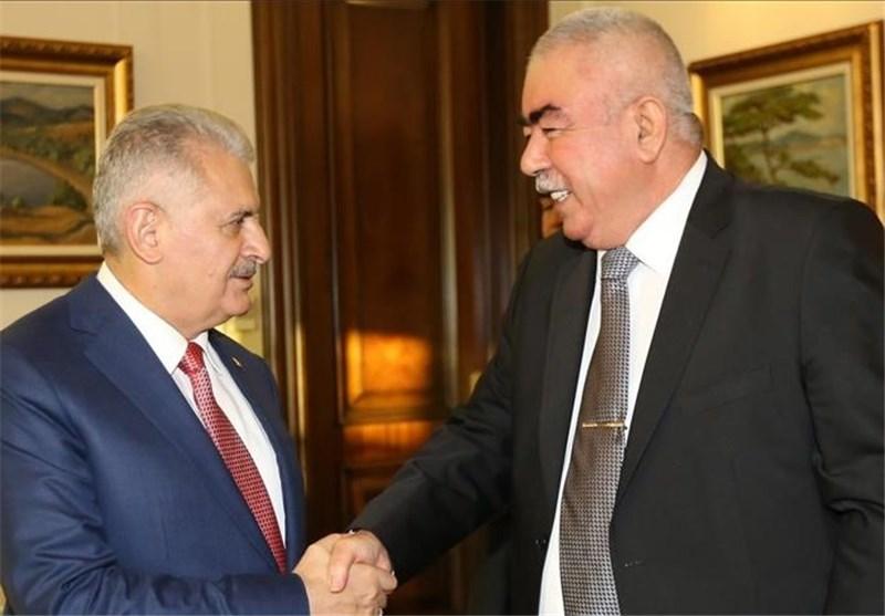 دیدار نخست وزیر ترکیه با ژنرال «دوستم» پشت درهای بسته