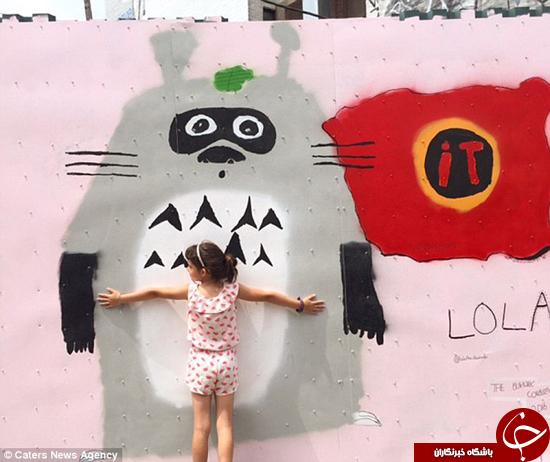 این هنرمند 7 ساله شهرت جهانی کسب کرد +تصاویر
