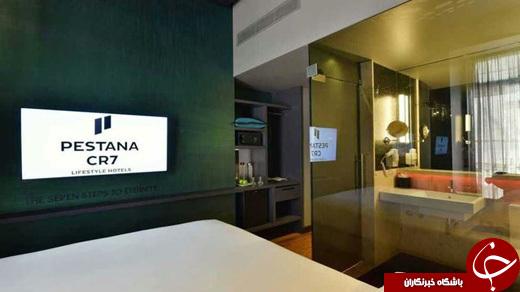 دومین هتل رونالدو افتتاح شد+عکس