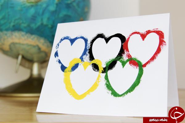 حلقه های المپیک در زندگی روزمره مردم+15 عکس