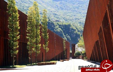 تصاویر/ موزه ی زلزله در چین