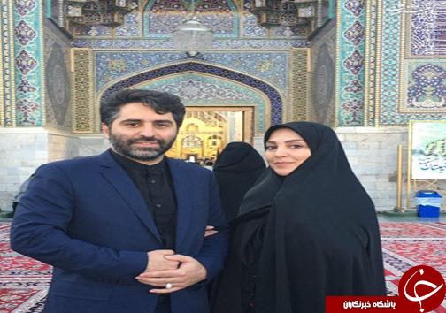 مجری زن تلویزیون ازدواج کرد +عکس