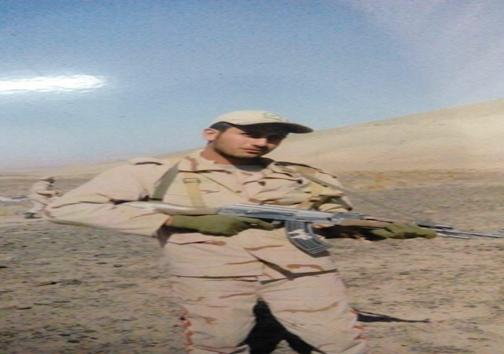 تشییع پیکر سرباز شهید فردا در رامسر
