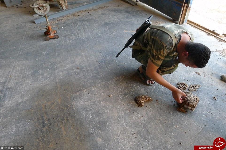 اینجا کارخانه بمب سازی داعش است + تصاویر