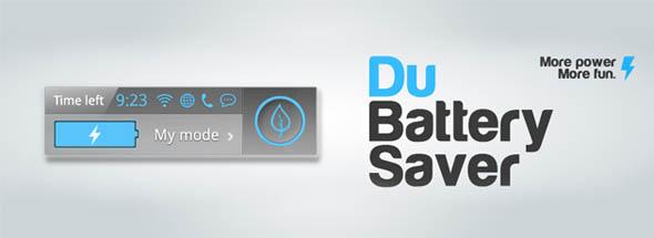 کاهش فوق العاده مصرف باطری گوشی با DU Battery Saver
