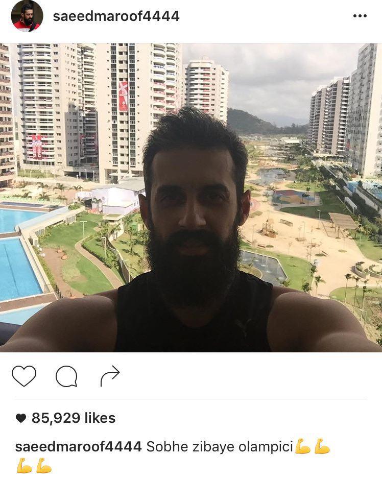 روحیه بالای ورزشکاران ایرانی در ریو+عکس