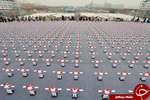 1007 ربات با حرکات موزون، رکورد جهانی گینس را شکستند