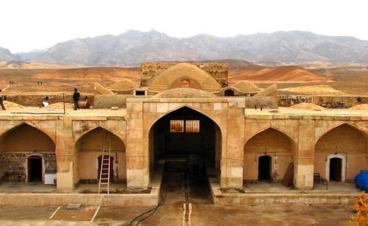 کاروانسرای قصر بهرام را بهتر بشناسیم + تصاویر