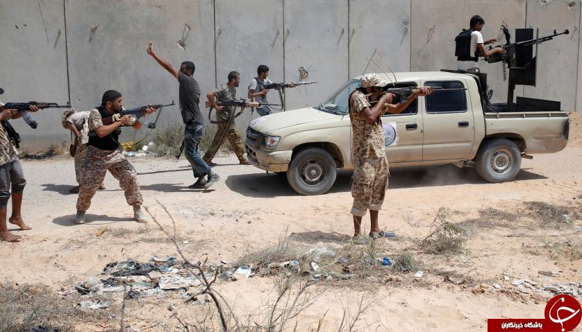 جنگ با داعش در لیبی به روایت تصاویر + 14 عکس