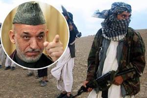 پیشنهاد کرزی به طالبان برای بیرون راندن امریکا از افغانستان/ به روند صلح بپیوندید