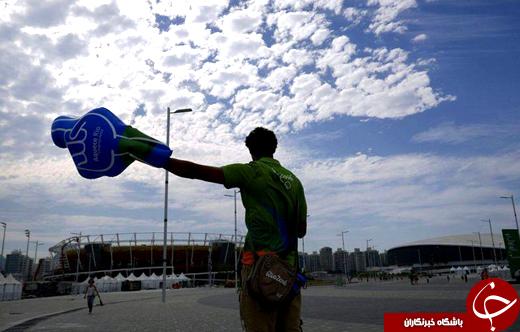 عکس/ شهر ریو پیش از افتتاحیه المپیک
