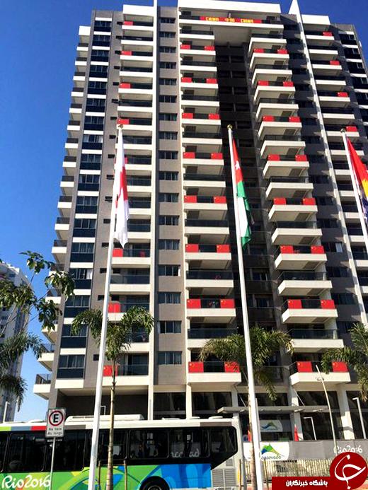 تصاویری از محل اقامت ورزشکاران ایران در دهکده/ امکانات در حد المپیک نیست!