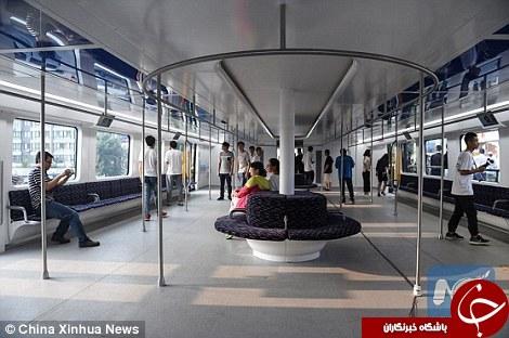 رونمایی از اتوبوس هایی که از روی ماشین ها عبور می کنند+ تصاویر