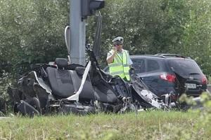 مرگ دو بازیکن فوتبال در تصادف رانندگی