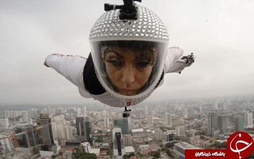 از ورزشکار ایرانی در صف تهیه غذای مکدونالد تا پرواز بدون چتر یک زن بر فراز پاناما
