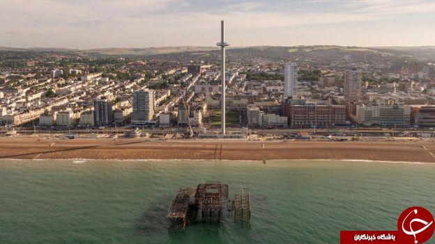 رونمایی از باریک ترین برج جهان در انگلستان