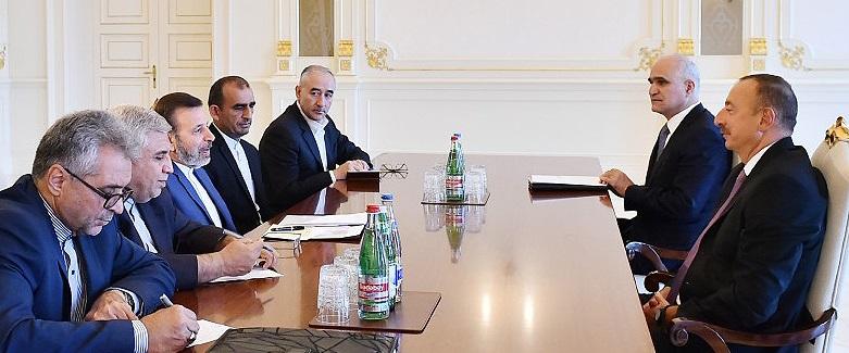 دیدار وزیر ارتباطات و رئیس جمهور آذربایجان