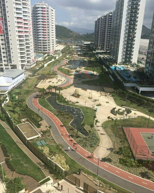 نمایی از دهکده یازی های المپیک ریو+تصاویر